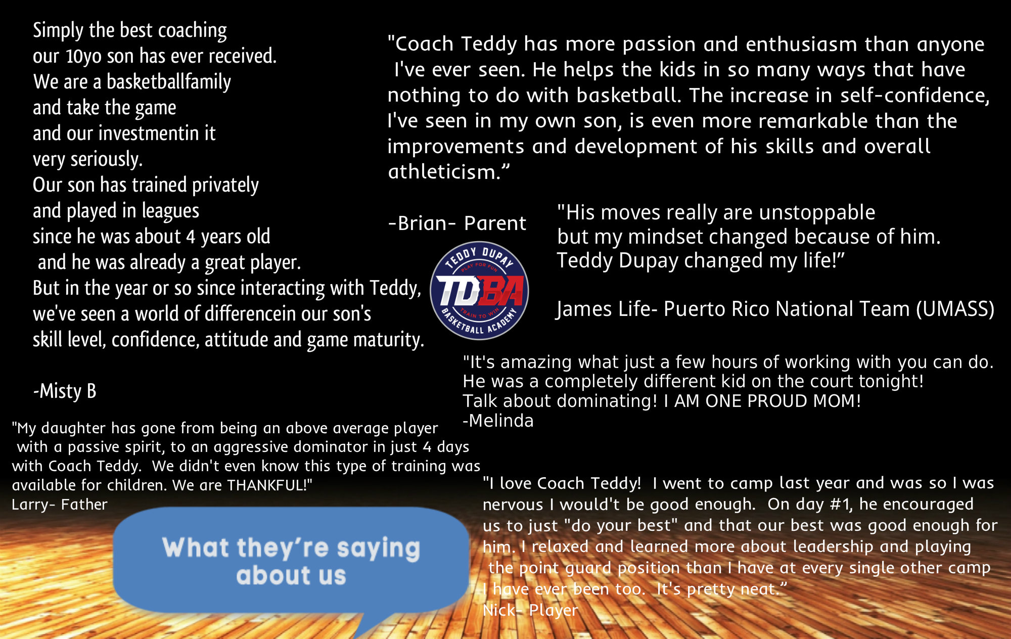www.TeddyDupay.com - Basketball Training & Lessons & Summer Camps for Kids