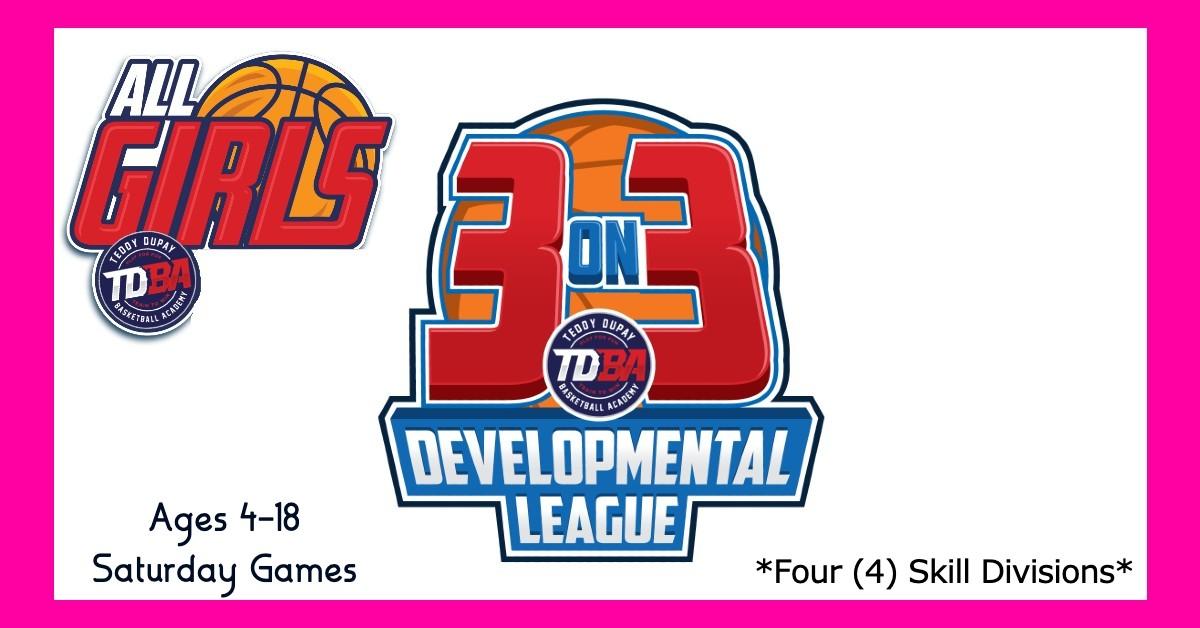 ALL GIRLS 3on3 Basketball League! ~NO BOYS ALLOWED!~